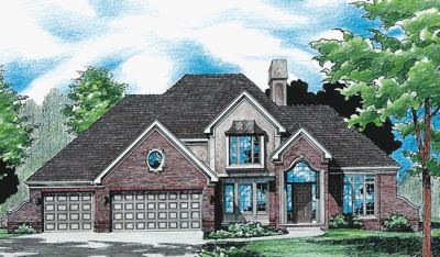 Traditional Style Floor Plans Plan: 10-328