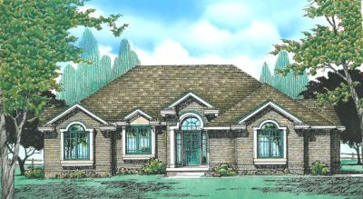 Traditional Style Floor Plans Plan: 10-329