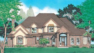 European Style House Plans Plan: 10-339