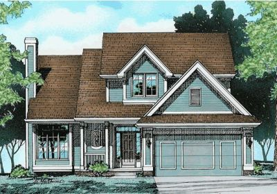 Traditional Style Floor Plans Plan: 10-342