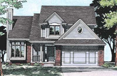 Traditional Style Floor Plans Plan: 10-344