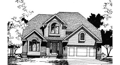 Traditional Style House Plans Plan: 10-349