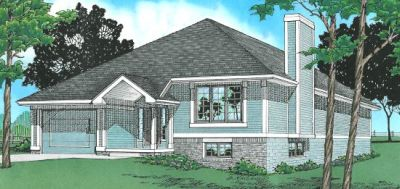 Traditional Style House Plans Plan: 10-351