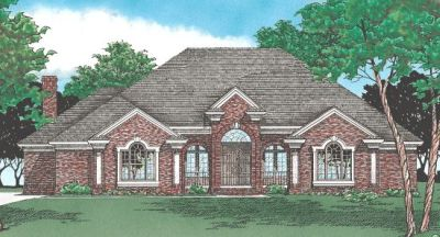Traditional Style Floor Plans Plan: 10-355