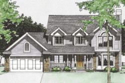 Country Style House Plans Plan: 10-360