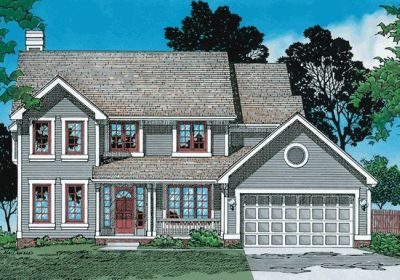 Country Style House Plans Plan: 10-361