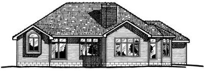 Rear Elevations Plan:10-367
