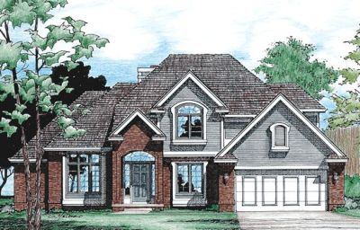 Traditional Style House Plans Plan: 10-374