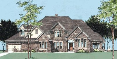 European Style House Plans Plan: 10-381