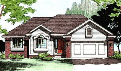 Traditional Style House Plans Plan: 10-384