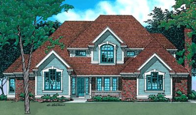 Traditional Style House Plans Plan: 10-391