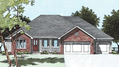 Traditional Style Floor Plans Plan: 10-394
