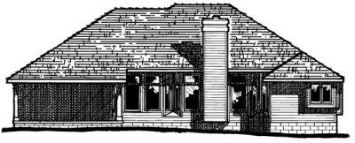 Rear Elevations Plan:10-394