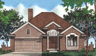 Traditional Style House Plans Plan: 10-411