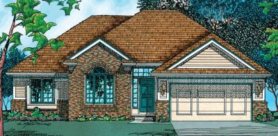 Traditional Style Floor Plans Plan: 10-413