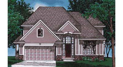 Traditional Style House Plans Plan: 10-414