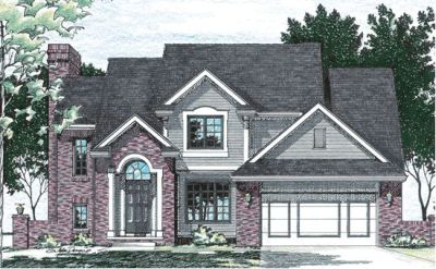 Traditional Style Floor Plans Plan: 10-421