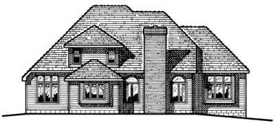 Rear Elevation Plan: 10-423