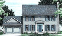 Early-American Style House Plans Plan: 10-426