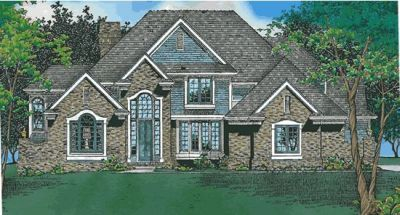 Traditional Style Home Design Plan: 10-430