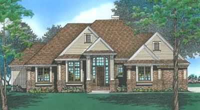Traditional Style Home Design Plan: 10-431