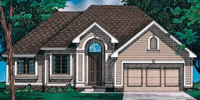 Traditional Style Floor Plans 10-434