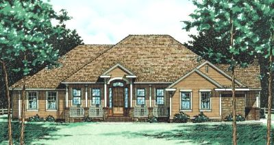 Traditional Style House Plans Plan: 10-435