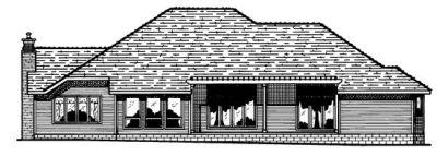 Rear Elevation Plan: 10-435