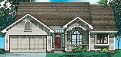 Traditional Style Floor Plans Plan: 10-436