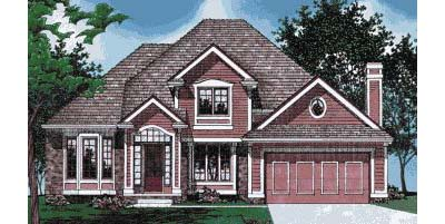 Traditional Style House Plans Plan: 10-437
