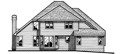 Rear Elevation Plan: 10-437