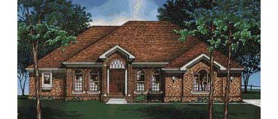 Traditional Style Floor Plans Plan: 10-440