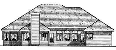 Rear Elevation Plan: 10-440