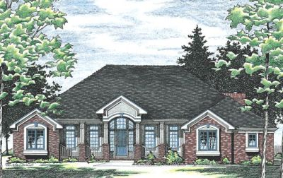 Traditional Style Floor Plans Plan: 10-442