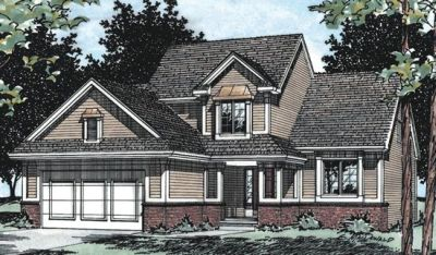 Traditional Style Floor Plans Plan: 10-447