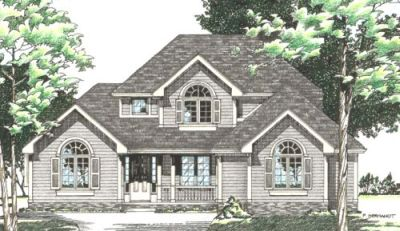 Traditional Style House Plans 10-450