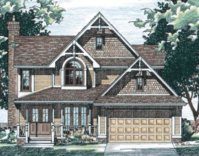 Victorian Style House Plans Plan: 10-453