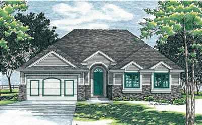 Traditional Style Floor Plans Plan: 10-456