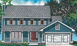 Country Style Floor Plans Plan: 10-457