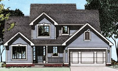 Traditional Style Floor Plans Plan: 10-458