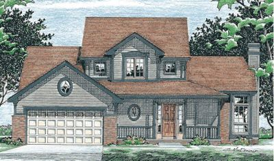 Traditional Style House Plans Plan: 10-459