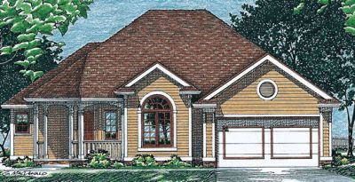 Traditional Style House Plans Plan: 10-460