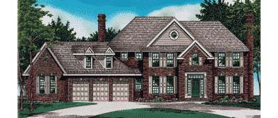 Traditional Style Floor Plans Plan: 10-466