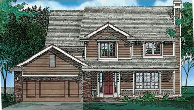 Traditional Style House Plans Plan: 10-471