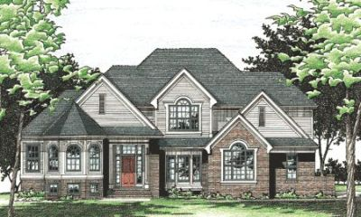 Traditional Style House Plans Plan: 10-472