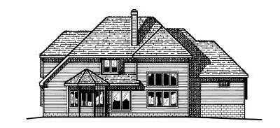 Rear Elevation Plan: 10-472