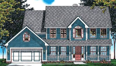 Country Style House Plans Plan: 10-474