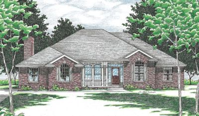 Traditional Style Floor Plans Plan: 10-480
