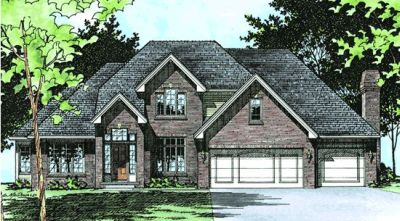 Traditional Style Floor Plans Plan: 10-488