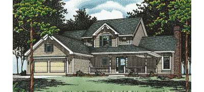 Traditional Style House Plans Plan: 10-501